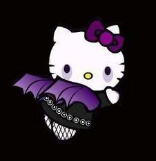 Hello Kitty Goth